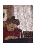 Marie Vuillard Writing; Marie Vuillard Ecrivant  C1895