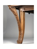 Art Nouveau Style Dining Room Table  Ca 1902