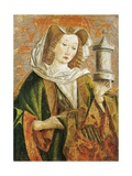 Mary Magdalene  Altarpiece Door  Late 15th Century