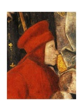 Francis Datini  Detail of Madonna Del Ceppo  1452-1453