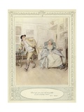 Illustration for Goldsmith's She Stoops to Conquer