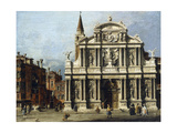 The Church and Campo of Santo Maria Zobenigo  Venice