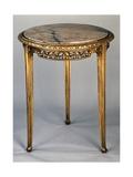 Art Nouveau Style Gueridon Three-Legged Table