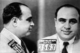 Miami Police Department Mug Shot of Al Capone  1930