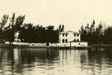 Al Capone''s Home on Palm Island  Miami Beach  C1928