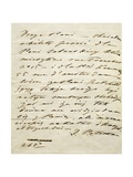 Letter Written in 1849 from Delfina Potocka to Frederic Chopin's Sister