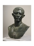 Bronze Bust of Cato the Younger  60 AD  House of Venus  from Volubilis