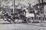 Fire Engine  Boise  Idaho  at the Turn of the Century