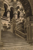 Grand Staircase  State Capitol  Albany  New York  USA