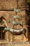 Monument to the Bremen Town Musicians by Gerhard Marcks  1951