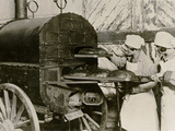 Poland on the Eve of War: Baking Bread in a Field Oven  Warsaw  C1939