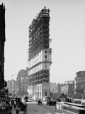 Times Building under Construction  New York  NY  C1903