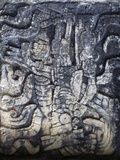 Human Figure  Relief of the Temple of the Jaguars  Chichen Itza
