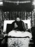Thubten Gyatso, 13th Dalai Lama of Tibet. C.1908-21 Papier Photo