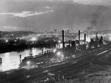 Jones and Laughlin Steel Mill  Pittsburgh  Pennsylvania