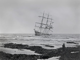 Wreck of the Leon XIII  County Clare  Ireland  1907
