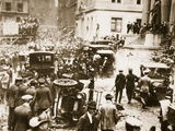 Bomb Damage Outside JP Morgan and Co  16th September 1920
