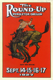 Advertisement for the Round-Up - Pendleton  OR