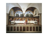 Italy  Florence  Refectory of Convent of San Marco  Last Supper  1482