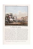 Charles De Crequi Is Killed During the Liberation of the Town of Breme  C1786-1792