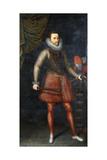 Portrait of the Archduke Albert  Standing Full-Length Holding a Baton  1593
