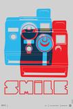 Smile Polaroid Poster
