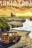 Santa Cruz  California - Woody and Lighthouse