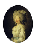 Portrait of the Louise Marie Josephine  Comtesse De Provence  Later Queen of France