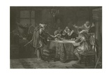 Henry Hudson Receiving His Commission from the Dutch East India Company  1609
