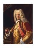 Portrait of Count Aloys Thomas Raimund Von Harrach  Viceroy of Naples  Ca 1730