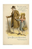 Little Nell and Her Grandfather  from the Old Curiosity Shop