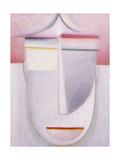 Abstract Head: Composition No 2 'Winter'; Abstraker Kopf: Komposition Nr 2 'Winter'  C1924