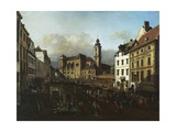 Freyung Square from the South-East  1758-1761  Vienna  Austria