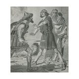 Croesus  King of Lydia  Is Saved from Death by the Voice of His Deaf and Dumb Son