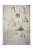 Studies for Lantern of Cathedral  from Codex Trivulzianus  1478-1490