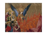 Angels and Saints  Detail from Coronation of Virgin  1454