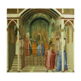 The Consecration of St Nicholas as Bishop of Mira  Detail from Miracles of St Nicholas of Bari