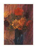 Large Still Life: Red and Yellow Dahlia; Grosses Stilleben: Rote Und Gelbe Dahlien  1937