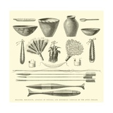 Weapons  Ornaments  Articles of Pottery  and Household Utensils of the Antis Indians