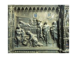 Birth of St John the Baptist  Detail from Relief of St John Baptist Altar