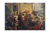 Emperor Frederick Barbarossa at Siege of Alexandria  1174-1175