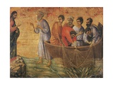 Christ at the Sea of Galilee  Detail from Episodes from Christ's Passion and Resurrection