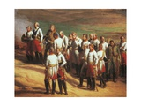 Ulm  October 20  1805  Austrian General Karl Mack and His Staff Surrendering to Napoleon