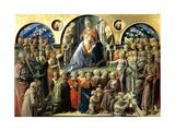 Incoronazione Maringhi or Coronation of the Virgin  1441-1447