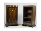 Art Deco Style Mini Bar and Bookcase  Stelcavgo Model  1928 and 1927