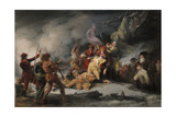 The Death of General Montgomery in the Attack on Quebec  December 31  1775  1786