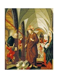 Wedding at Cana  Panel from Stories of Christ  St Wolfgang Altarpiece  1479-1481
