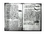 Paris Manuscript E  Fol 22V and 23R: Sketch of the Flight of Birds  1513-14