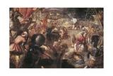 Francesco II Gonzaga Fighting in the Battle of Taro Against Charles VIII of France in 1495  1579