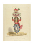 Jaw-Bone  or House John-Canoe  Plate 3 from 'Sketches of Character'  1838